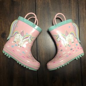 Northside Toddler Unicorn Rain Boots